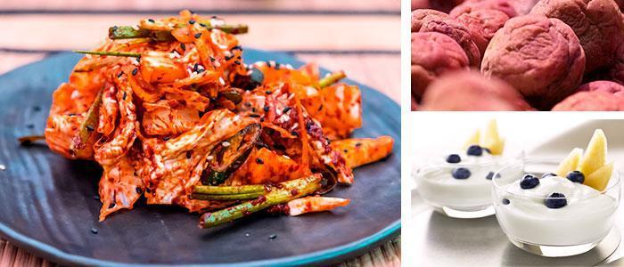 Alimentos con Bifidobacterium infantis o bifidus