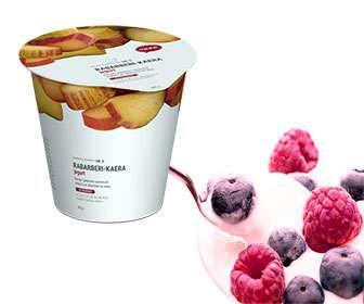 Yogur con L fermentum hereditum