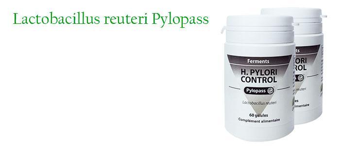 Lactobacillus reuteri Pylopass