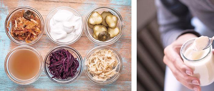 Lista de alimentos que contienen probióticos