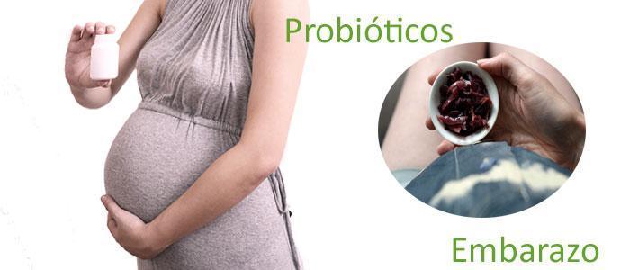 Probióticos y embarazo
