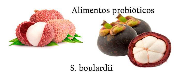 Alimentos probióticos con Saccharomyces boulardii