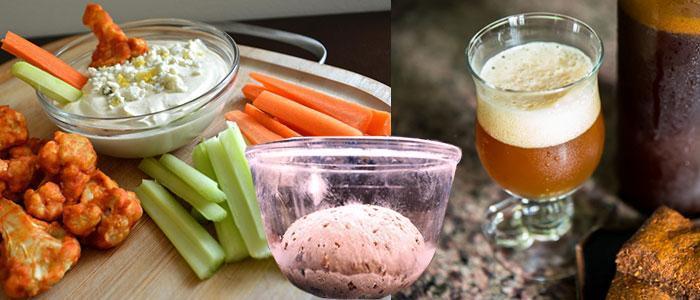 Alimentos probióticos con saccharomyces (pan, cerveza, vino)